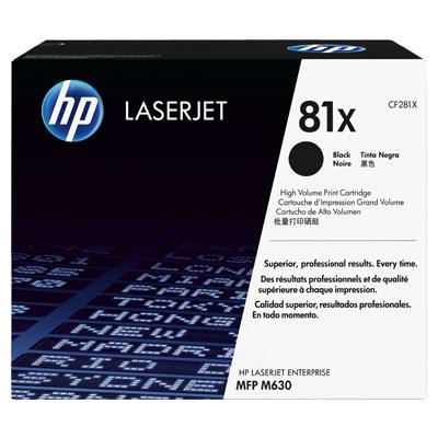 Hp CF281X Black  Laser Toner (25000 σελίδες) 81X