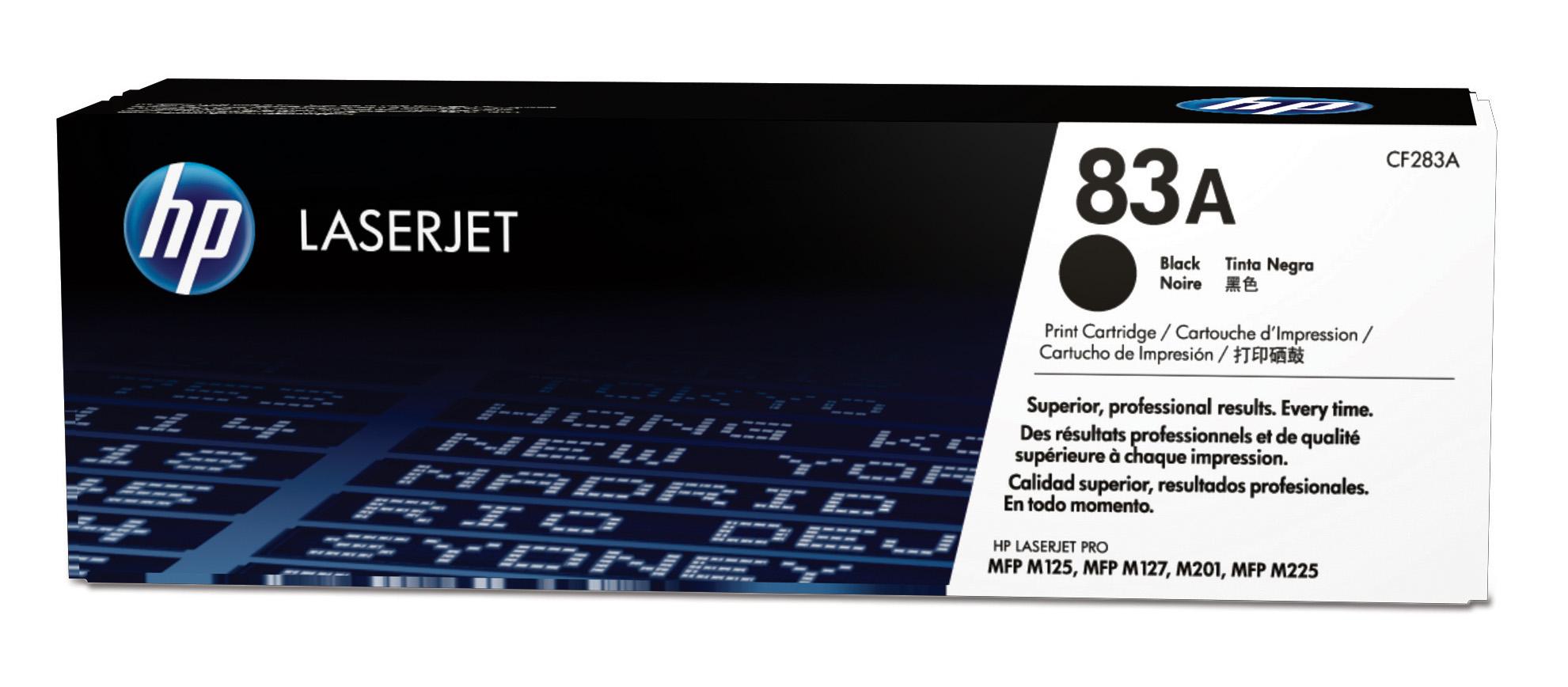 Hp CF283A Black  Laser Toner (1500 σελίδες) 83A