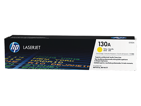 Hp CF352A Yellow Laser Toner (1000 σελίδες) 130A