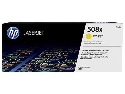 Hp CF362X Yellow Laser Toner (9500 σελίδες) 508X