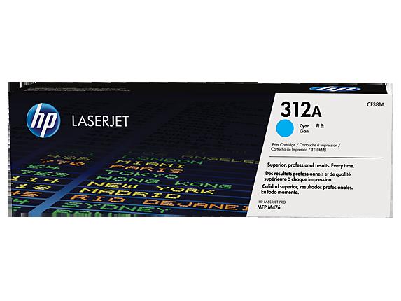 Hp CF381A Cyan Laser Toner  312A