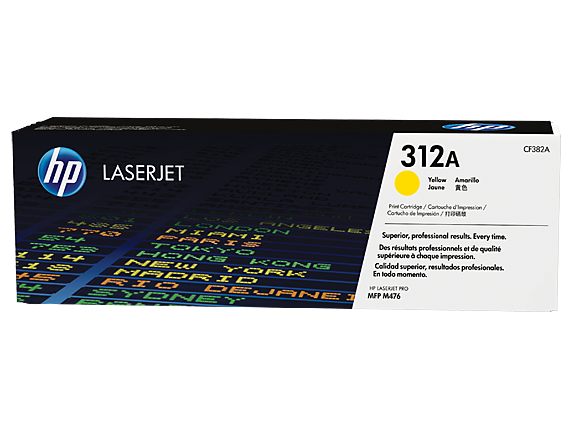 Hp CF382A Yellow Laser Toner (2700 σελίδες) 312A