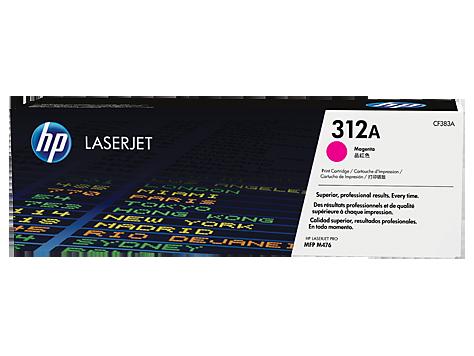 Hp CF383A Magenta Laser Toner  312A