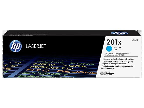 Hp CF401X Cyan Laser Toner (2300 σελίδες) 201X