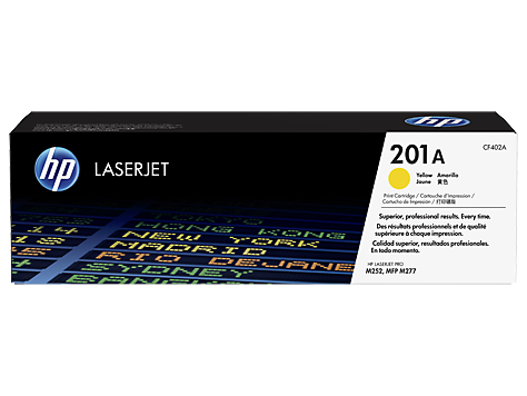 Hp CF402A Yellow Laser Toner (2300 σελίδες) 201A
