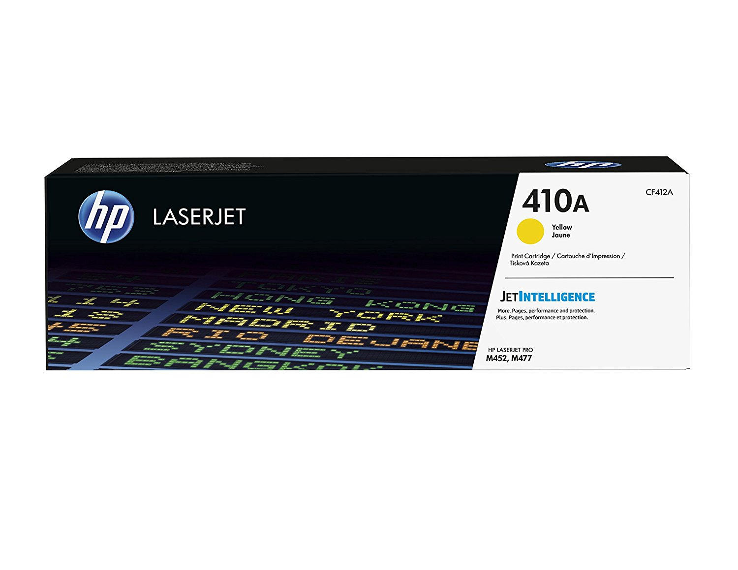 Hp CF412A Yellow Laser Toner (5000 σελίδες) 410A