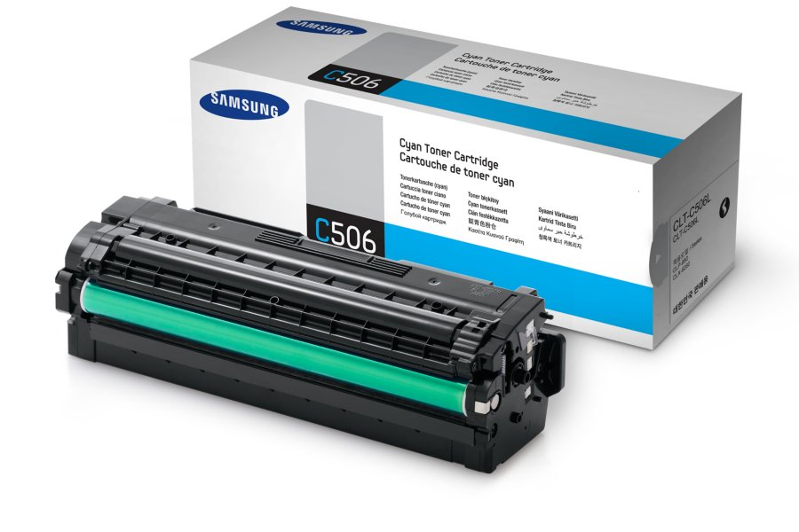 SAMSUNG CLT-C506L/ELS Cyan Laser Toner (3500 σελίδες) C506