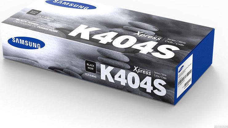 SAMSUNG CLT-K404S/ELS Black  Laser Toner (1500 σελίδες) K404