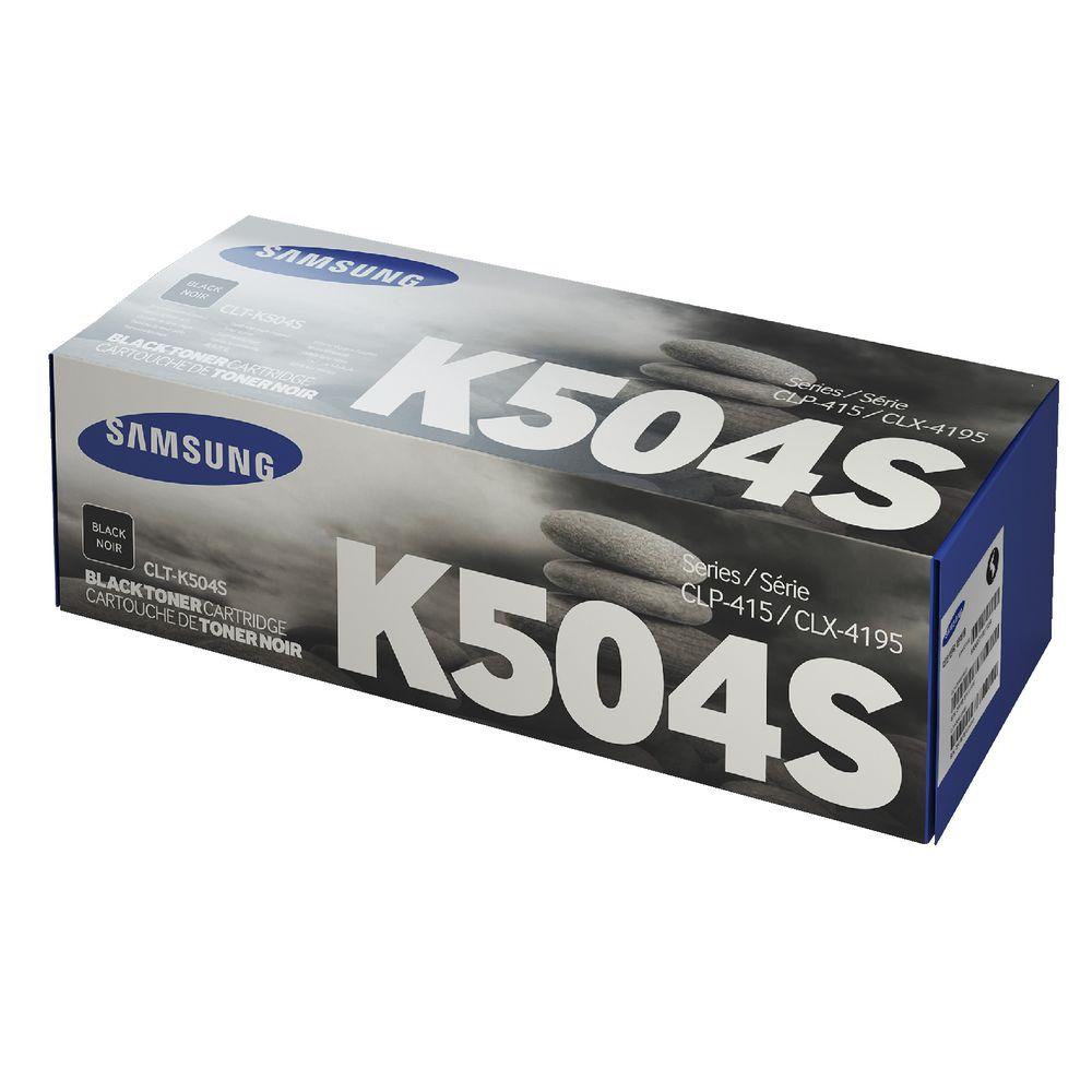 SAMSUNG CLT-K504S/ELS Black  Laser Toner (2000 σελίδες) K504