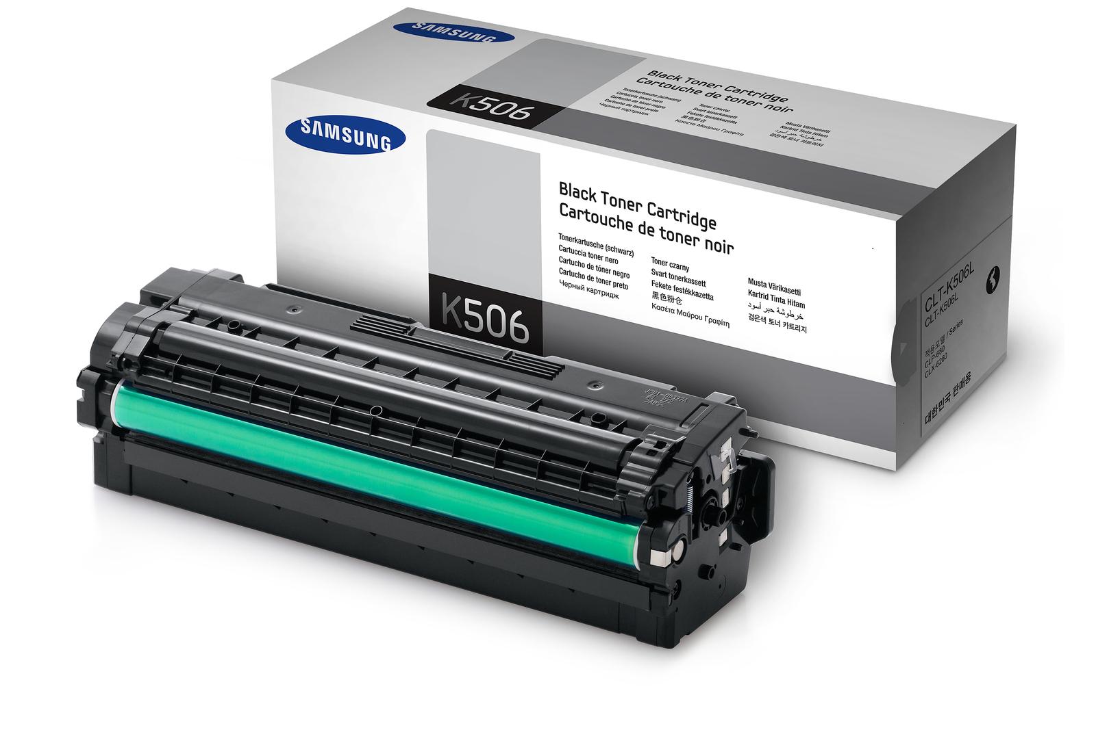 SAMSUNG CLT-K506L/ELS Black  Laser Toner (6000 σελίδες) K506