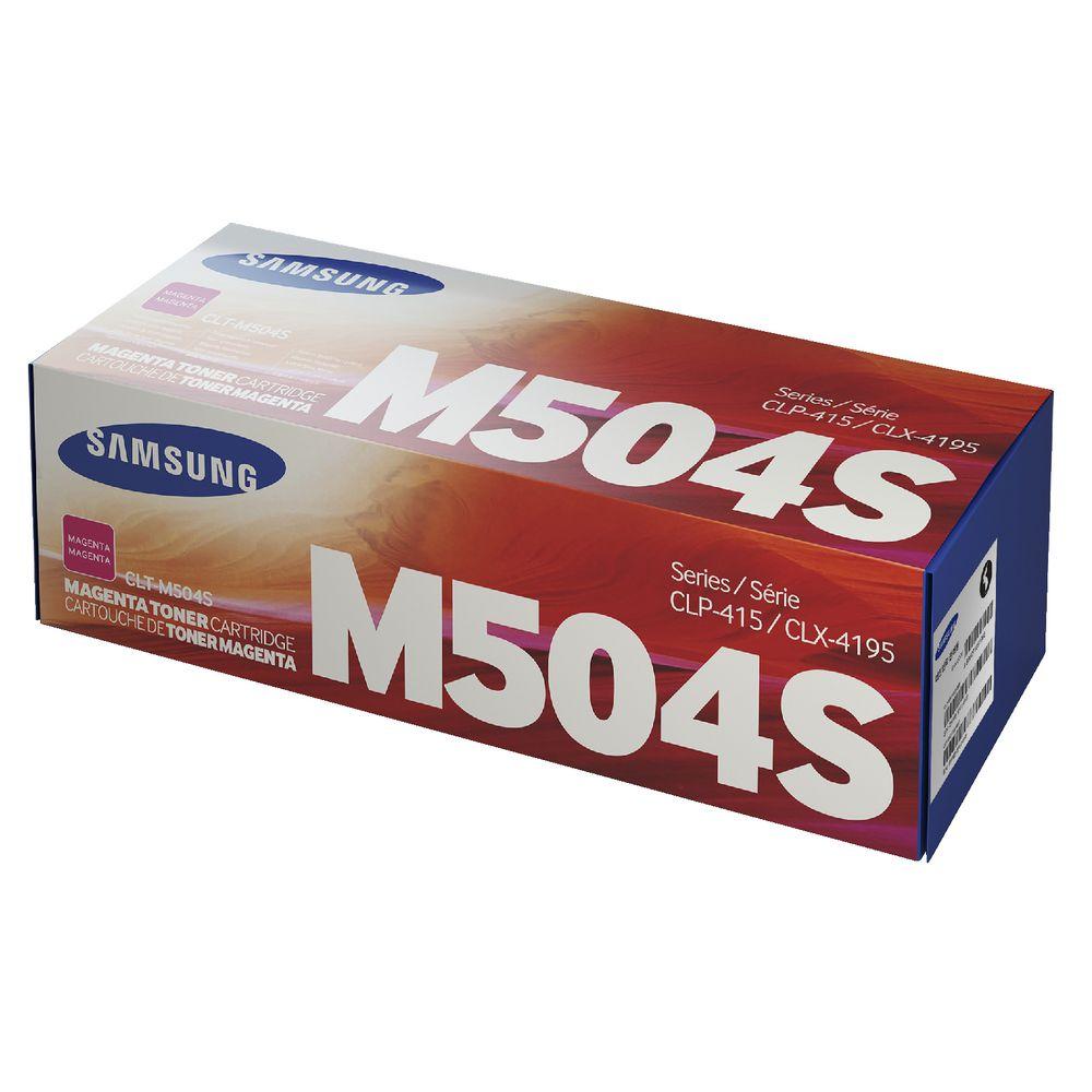 SAMSUNG CLT-M504S/ELS Magenta Laser Toner (1800 σελίδες) M504