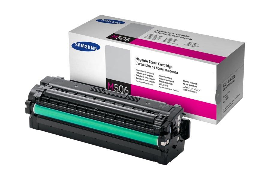 SAMSUNG CLT-M506L/ELS Magenta Laser Toner (3500 σελίδες) M506