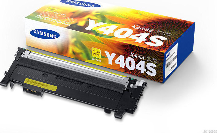 SAMSUNG CLT-Y404S/ELS Yellow Laser Toner (1000 σελίδες) Y404