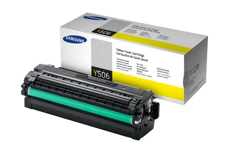 SAMSUNG CLT-Y506L/ELS Yellow Laser Toner (3500 σελίδες) Y506