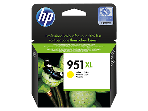 Hp CN048AE Yellow Inkjet Cartridge (1500 σελίδες) 951XL