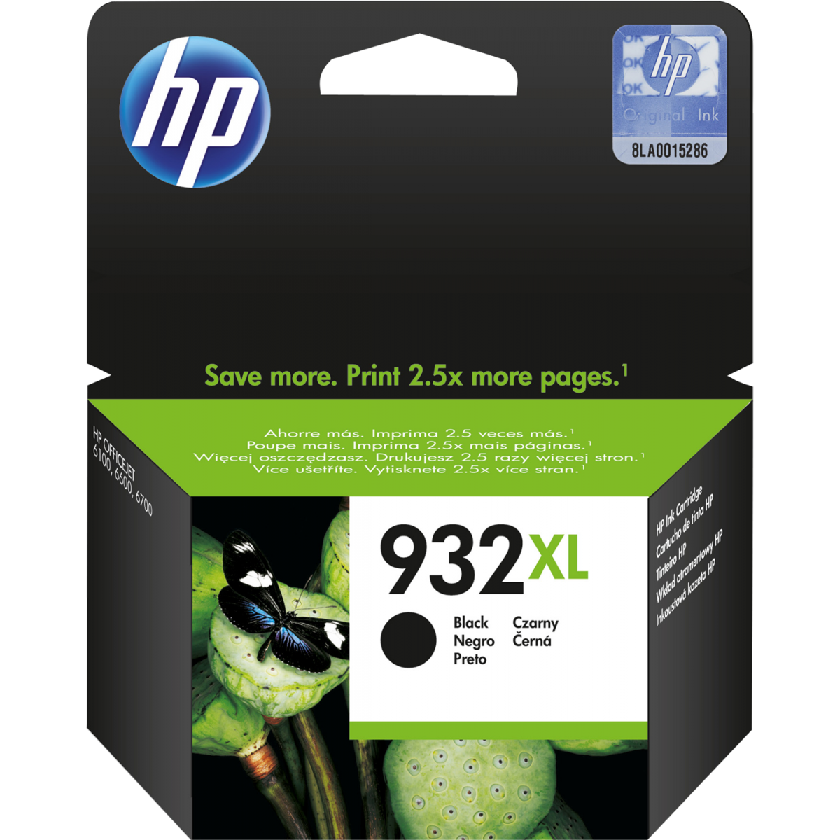 Hp CN053AE Black  Inkjet Cartridge (1000 σελίδες) 932XL