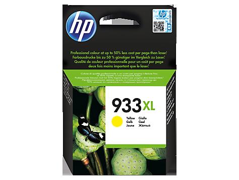 Hp CN056AE Yellow Inkjet Cartridge  933XL
