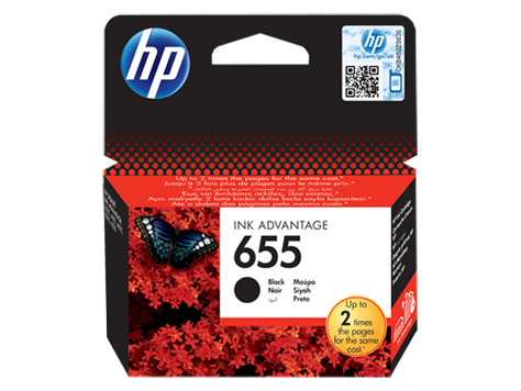 Hp CZ109AE Black  Inkjet Cartridge (550 σελίδες) 655