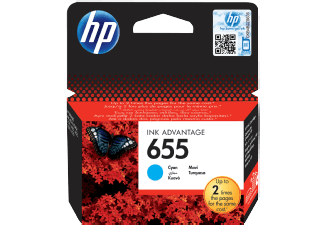 Hp CZ110AE Cyan Inkjet Cartridge (600 σελίδες) 655