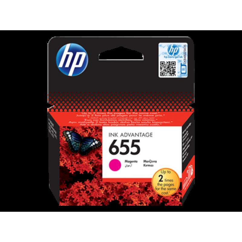 Hp CZ111AE Magenta Inkjet Cartridge  655