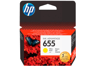 Hp CZ112AE Yellow Inkjet Cartridge (600 σελίδες) 655