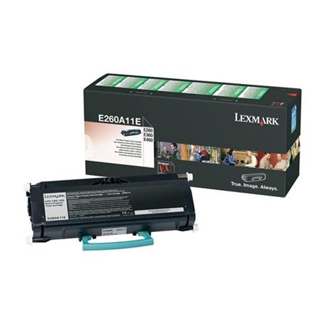 Lexmark E260A11E Black  Laser Toner  E260A11