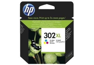 Hp F6U67AE Color Inkjet Cartridge (330 σελίδες) 302XL