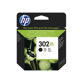 Hp F6U68AE Black  Inkjet Cartridge (480 σελίδες) 302XL