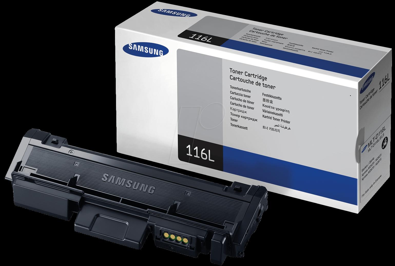 SAMSUNG MLT-D116L/ELS Black  Laser Toner (3000 σελίδες) 116L