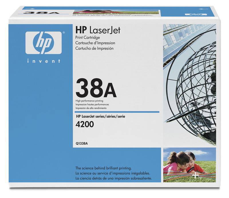 Hp Q1338A Black  Laser Toner (12000 σελίδες) 38A