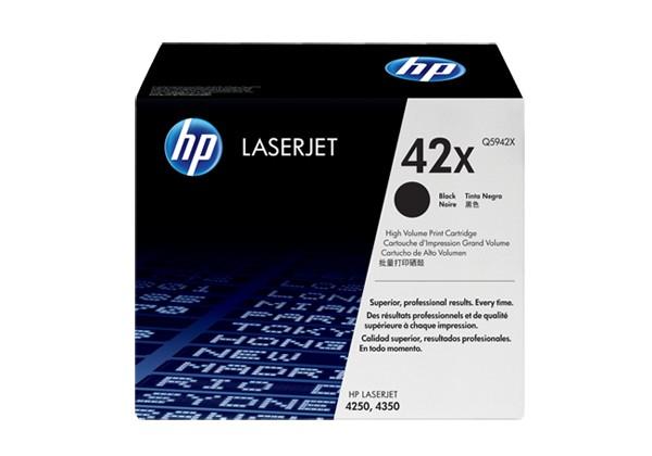 Hp Q5942X Black  Laser Toner  42X