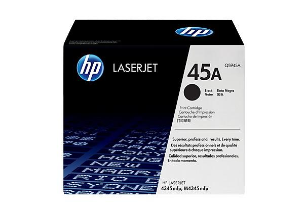 Hp Q5945A Black  Laser Toner  45A