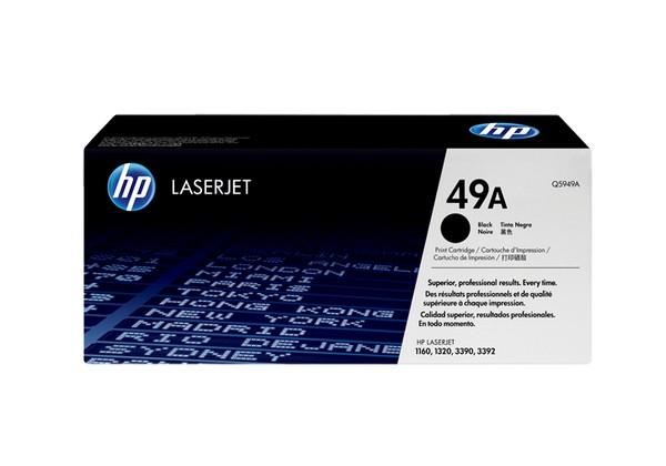 Hp Q5949A Black  Laser Toner  49A