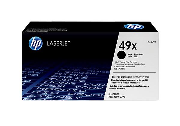 Hp Q5949X Black  Laser Toner (6000 σελίδες) 49X