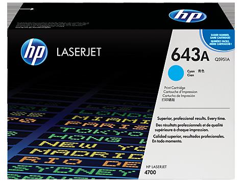 Hp Q5951A Cyan Laser Toner  643A