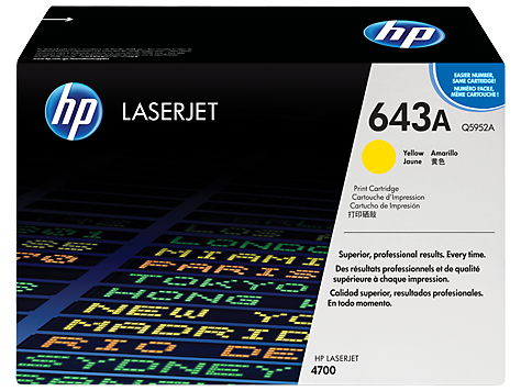 Hp Q5952A Yellow Laser Toner (10000 σελίδες) 643A