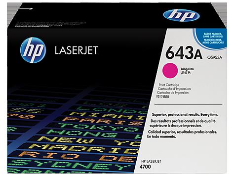 Hp Q5953A Magenta Laser Toner (10000 σελίδες) 643A