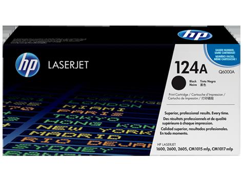 Hp Q6000A Black  Laser Toner  124A
