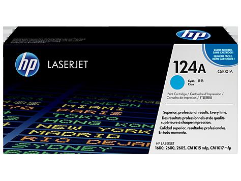 Hp Q6001A Cyan Laser Toner (2000 σελίδες) 124A