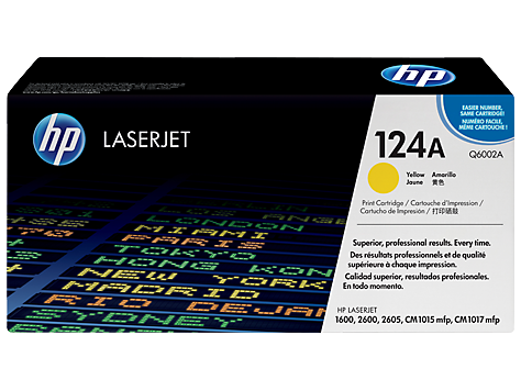 Hp Q6002A Yellow Laser Toner (2000 σελίδες) 124A