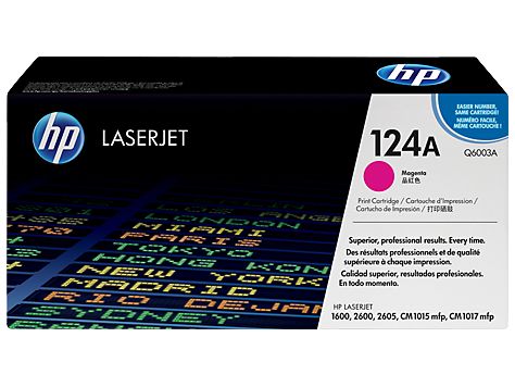 Hp Q6003A Magenta Laser Toner  124A