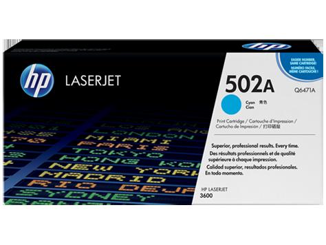Hp Q6471A Cyan Laser Toner  501A