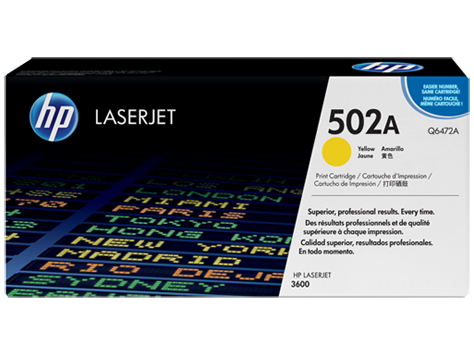 Hp Q6472A Yellow Laser Toner (4000 σελίδες) 501A