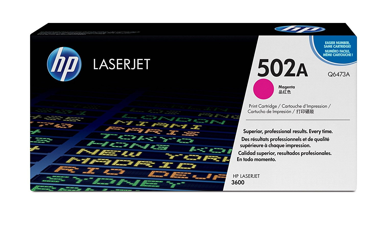 Hp Q6473A Magenta Laser Toner  501A