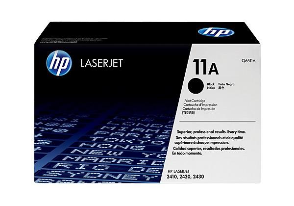 Hp Q6511A Black  Laser Toner  11A