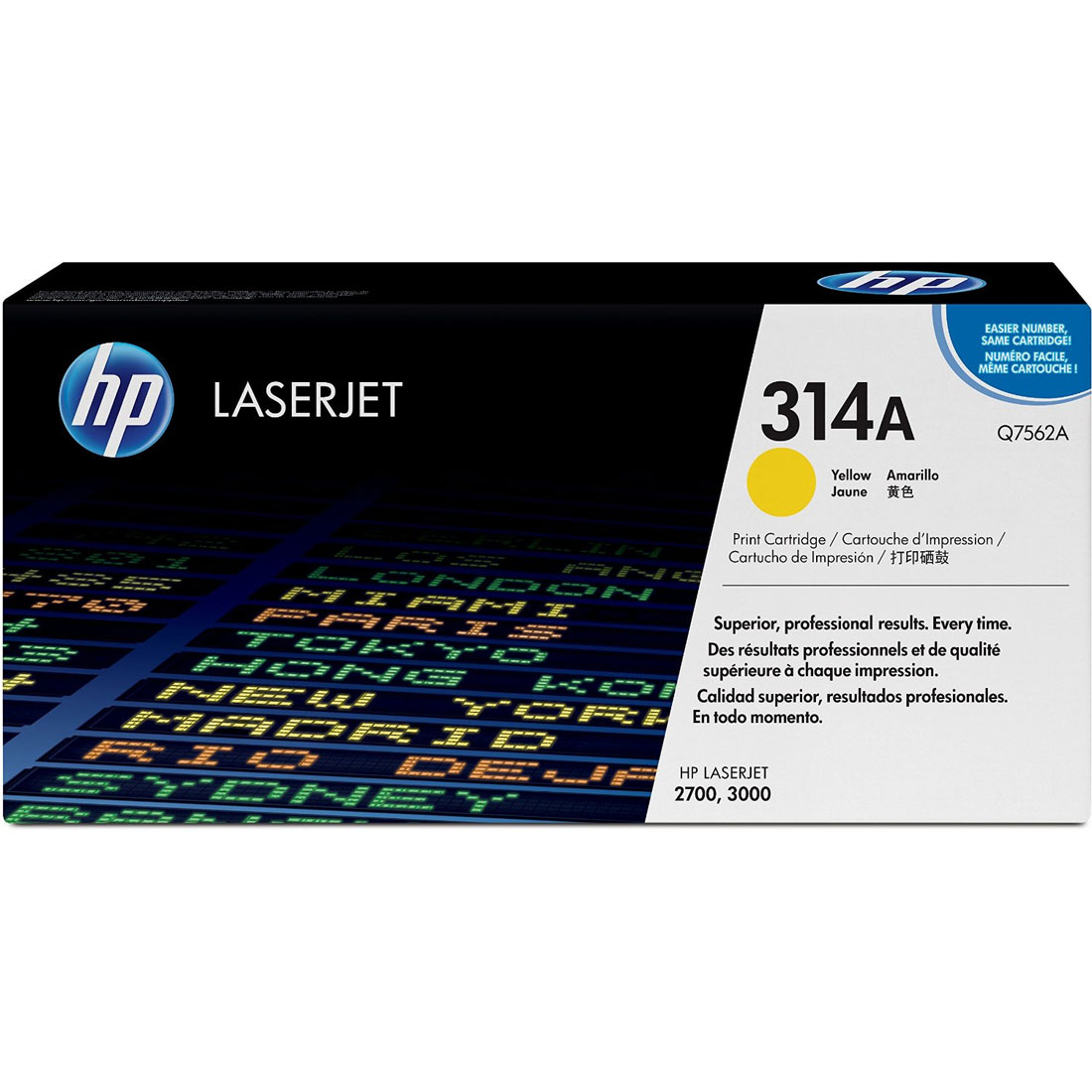 Hp Q7562A Yellow Laser Toner (3500 σελίδες) 314A