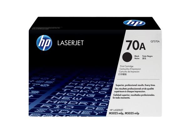 Hp Q7570A Black  Laser Toner  70A