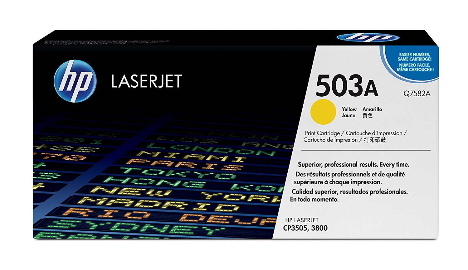 Hp Q7582A Yellow Laser Toner (6000 σελίδες) 503A