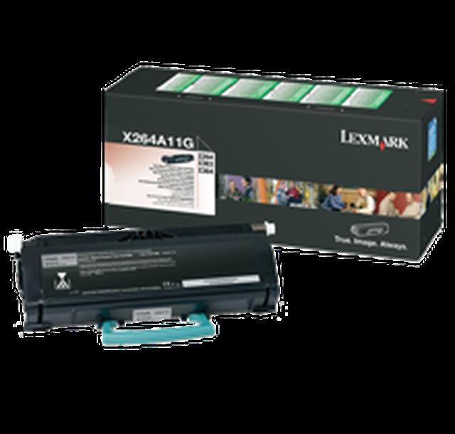 Lexmark X264A11G Black  Laser Toner (3500 σελίδες) X264A11