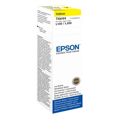 Epson C13T664440 Yellow Inkjet Cartridge  6644